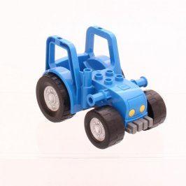 Autíčko stavebnicové modré
