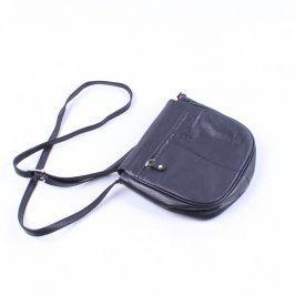 Dámská kabelka z černé kůže