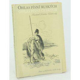 Kniha F. Belakovsky: Ohlas písní ruských