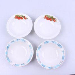 Sada talířů 4 ks porcelánové