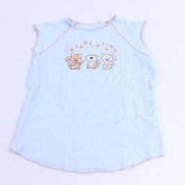 Dívčí tričko světle modré barvy