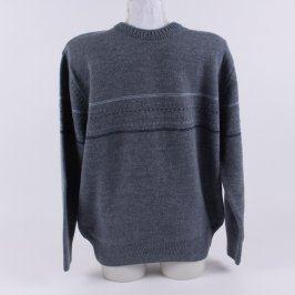 Pánský vlněný teplý svetr Devir