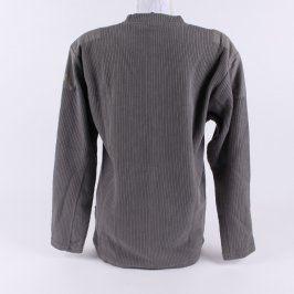 Pánský svetr khaki Basik