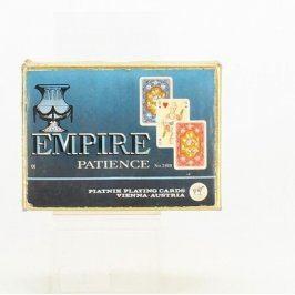 Hrací karty Empire Patience