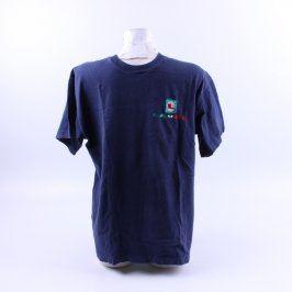 Pánské tričko Fruit of the Loom odstín modré
