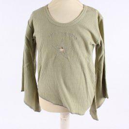 Dětské tričko I.J.Fashion zelené barvy