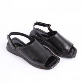 Dámské letní sandále černé