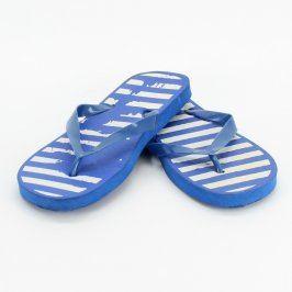 Dámské žabky Elle modré