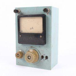 Ampérmetr Metra domácí výroby