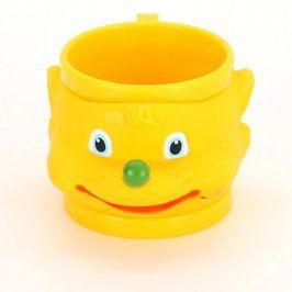 Dětský plastový hrneček žlutý
