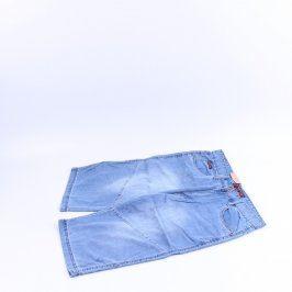 Dámské kraťasy Harpia džínové odstín modré