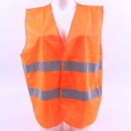 Reflexní vesta jasně oranžová