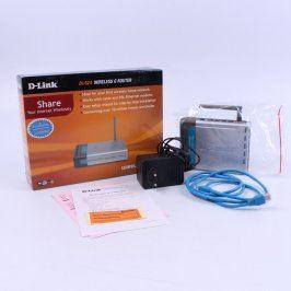 Access point D-Link DI-524 stříbrno-černý