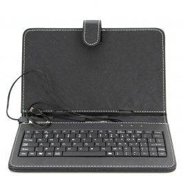 Pouzdro na tablet s klávesnicí Blun černé