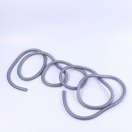 Organizér na kabely šedý 530 cm