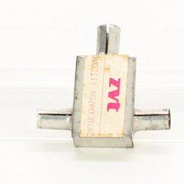 Rozbočovač ZVT IEC (F) / 2x IEC (M) kovový