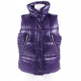 Dámská prošívaná vesta H&M odstín fialové