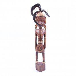 Dřevěná soška domorodého muže
