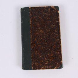 Kniha Evangelium ve starém přebalu