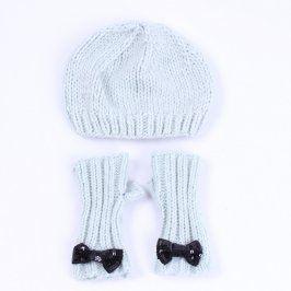 Set: čepice a rukavice bez prstů H&M