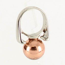 Dámský prsten s barevnou kuličkou