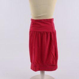 Dámská sukně Tchibo červená