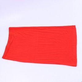 Dámská dlouhá sukně H&M červená