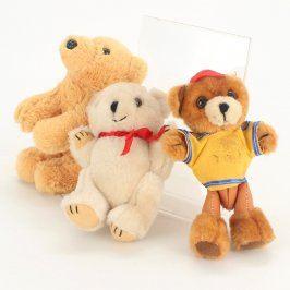 Plyšové hračky medvídci různobarevní