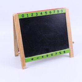 Tabule dětská dřevěná 41 x 37 cm
