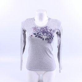 Dámské tričko Hilfiger Denim šedé