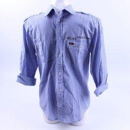 Pánská košile Jack and Jones světle modrá