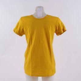 Pánské tričko Jack and Jones odstín žluté