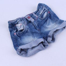 Dívčí šortky Kiki&Koko džínové odstín modré