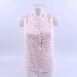 Dámská halenka Orsay růžová bez rukávů