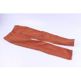 Dámské džíny Orsay oranžové