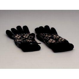 Prstové rukavice černé