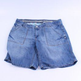 Pánské šortky Evans džínové odstín modré