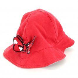 Dětský klobouček Disney červený