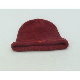 Čepice s nášivkou dýmky červená