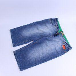 Pánské džínové šortky TU modré