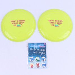 Frisbee Elastoform Bohemia žluté 2 ks