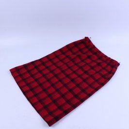 Dámská kostkovaná sukně Triola červená