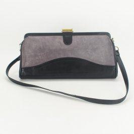 Dámská kabelka černo šedá