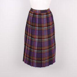 Dámská kostkovaná sukně multikolor