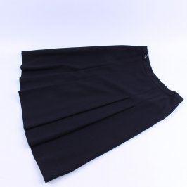 Dámská sukně černá ke kolenům