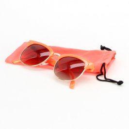 Dámské sluneční brýle oranžové