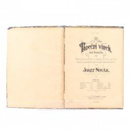 Sbírka Josef Novák: Taneční vínek na housle