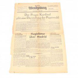 Noviny Prager Abendzeitung Nr. 57
