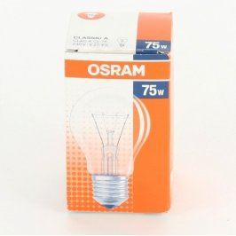 Žárovka Osram 75 W patice E27/ES