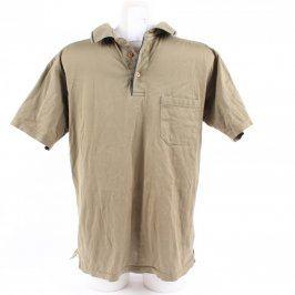 Pánské polo tričko Greystone hnědé barvy